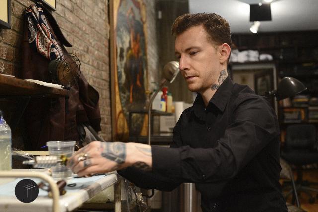 Cris Cleen Saved Tattoo Brooklyn NYC