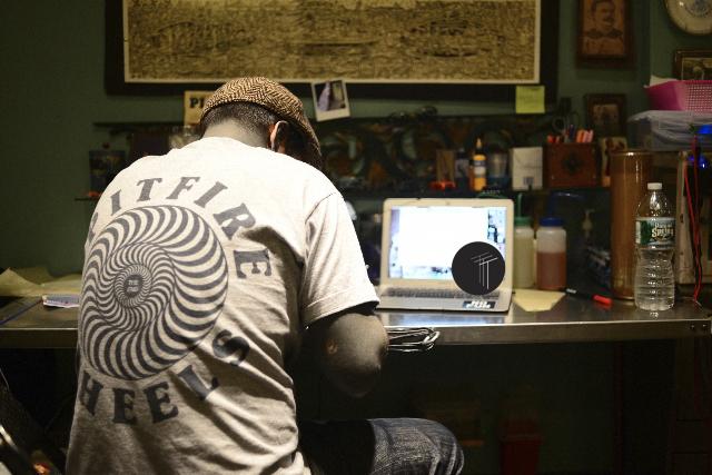 Bastien Jean, tattoo, tattoo artist, the okey dokey, east river tattoo, nyc, brooklyn, toronto