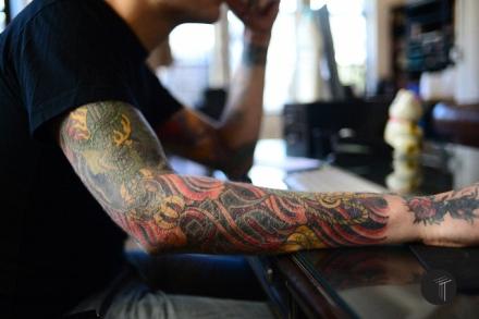 Justin Weatherholtz, NYC, Kings Avenue Tattoo